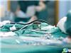 手术中各种器械和纱布