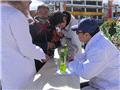 周韶松医生参与当地强化免疫工作