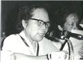 1985年,梁季华发表讲话
