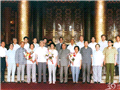 1985,梁季华受国家领导人接见