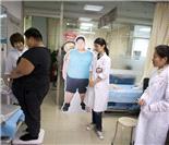 """""""京城第一胖童""""入院减肥"""