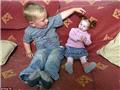 世界上最小女孩 身高56厘米的洋娃娃