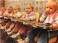 五胞胎的用餐时间