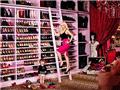 克里斯蒂娜・阿奎莱拉奢华名牌鞋分放两间大屋