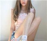 网络超梦幻萌女模样酷似充气娃娃