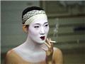 休息时的一支烟,京都