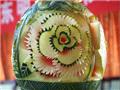 创意西瓜雕塑