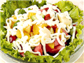 午餐:一般吃沙拉、三明治或者鸡肉