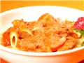 晚餐:蛋白质混合饮料和通心粉鸡肉
