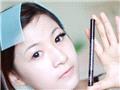 这次的大眼妆我选择黑色的眼线笔