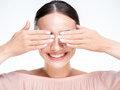 清除污垢 温热手掌卸妆法