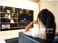 正确看电视,需要有距离