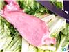 39健康网编辑从超市买回的新鲜猪肉