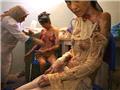 阿富汗妇女不堪受虐悲惨自焚