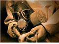 """军事部队""""核生化""""防护训练现场"""