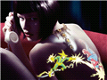 人体艺术:美轮美奂的光刺青