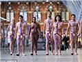 英国男女涂着动静脉图宣传献血