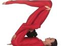 人体英文字母瑜伽秀