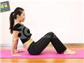 动作二:屈膝V字运动(预备姿势)