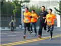 陈冠希上海参加10公里跑2