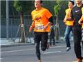 陈冠希上海参加10公里跑