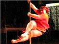 最胖的钢管舞冠军