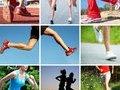 动作六:开腿俯身拉伸