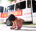 武警广东总队医院为四会狮岭小学师生免费体检 筛查先心病