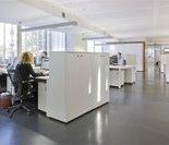 美国脐带血有限公司实验室的入口处。