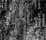 明正统石刻铜人经脉图(日本宫内厅藏)