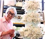 82岁蛋糕设计女王 专供富豪明星