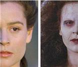 美女变僵尸:超惊悚的恐怖电影化妆术