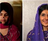 阿富汗遭割鼻女孩整容后乘地铁出行