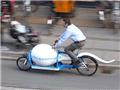 """丹麦街头的""""精子""""自行车"""
