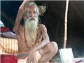 印度苦行僧高举右手38年已定型