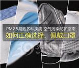 空气污染防护指南 如何正确选择、佩戴口罩