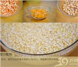 材料・绿豆和其它配料