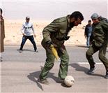 卡扎菲没了 但足球仍在