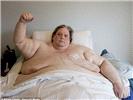 全球第一肥男735斤