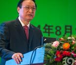 国家卫生计生委员会副主任、中国中医药管理局局长王国强发言